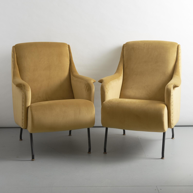 Osvaldo Borsani for Tecno armchairs