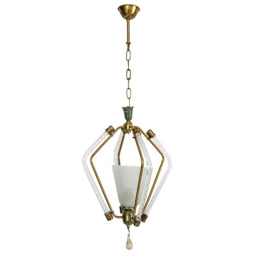 Carlo Scarpa for Venini chandelier
