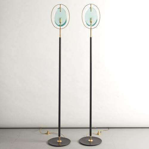 Max Ingrand, Fontana Arte standing lamps