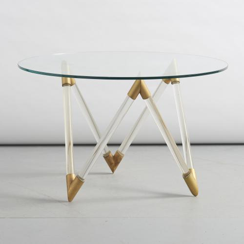Seguso glass coffee table