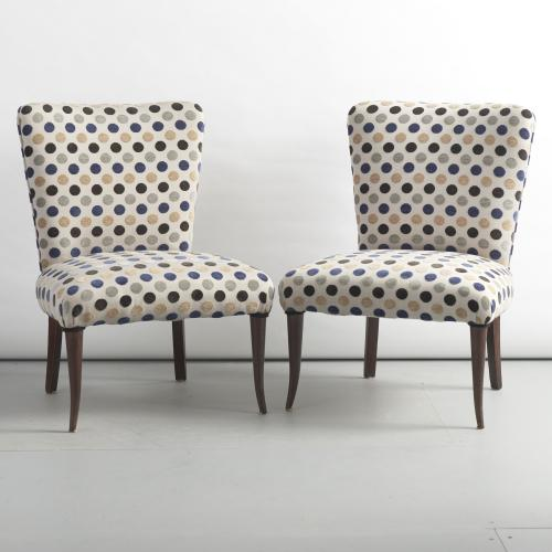 Pair of nice stylish italian chairs