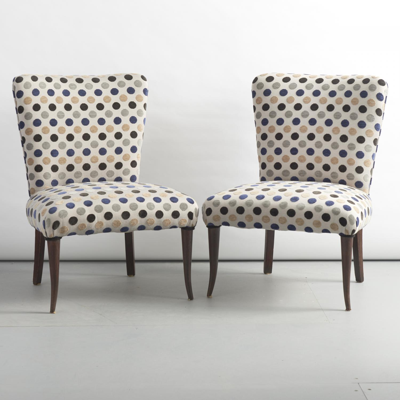 Pair of nice stylish italian chairs