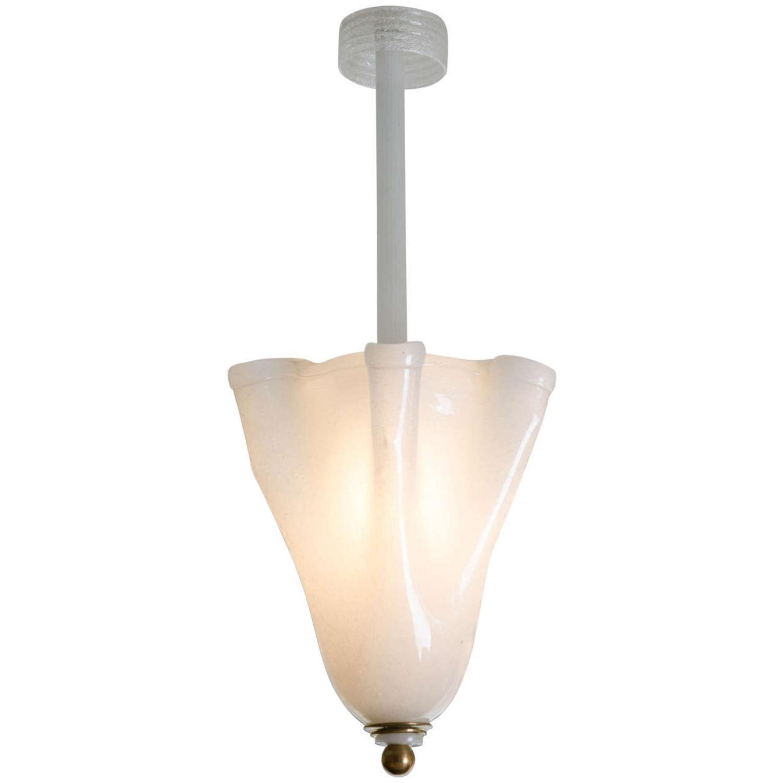 Carlo Scarpa for Venini chandelier
