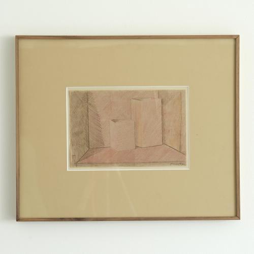 Piero Fornasetti cubist period