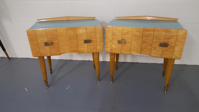 Pair of Italian beautiful side tables