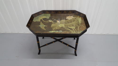 Art Nouveau tray coffee table