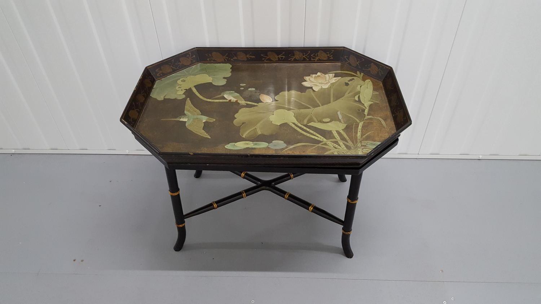 Art Nouveau tray coffee table