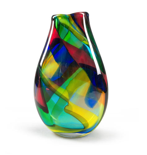 Multicolour Vase by Afro Celotto