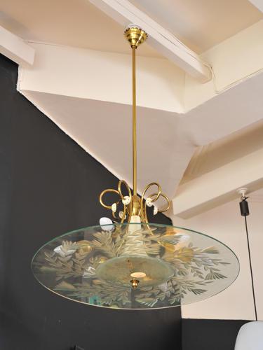Fontana Arte chandelier