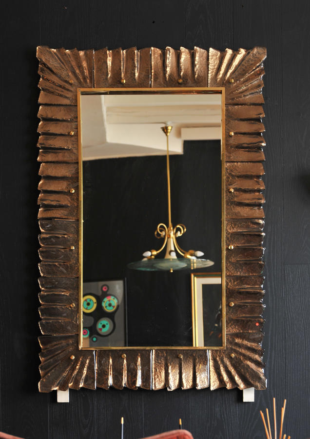 Pair of sumptous Murano mirrors