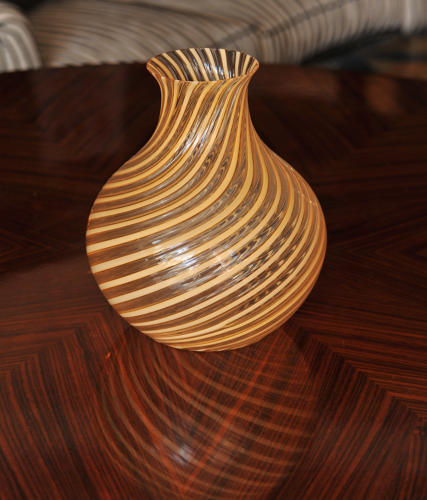 Rare Salviati glass vase