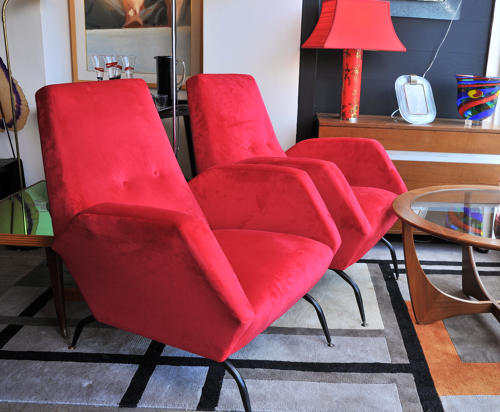 Pair of beautiful Italian armchairs