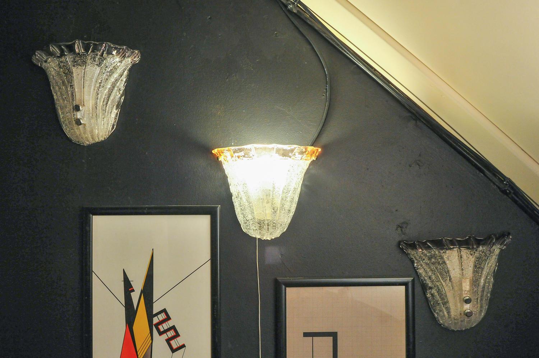Wall lights by Mazzega