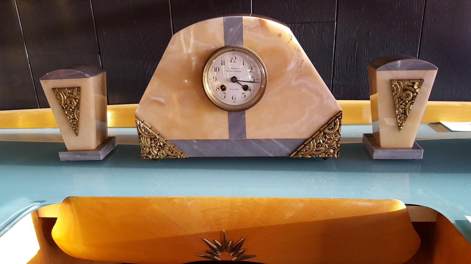 Perrin Art Deco Clock