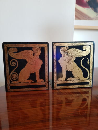 Piero Fornasetti Bookends