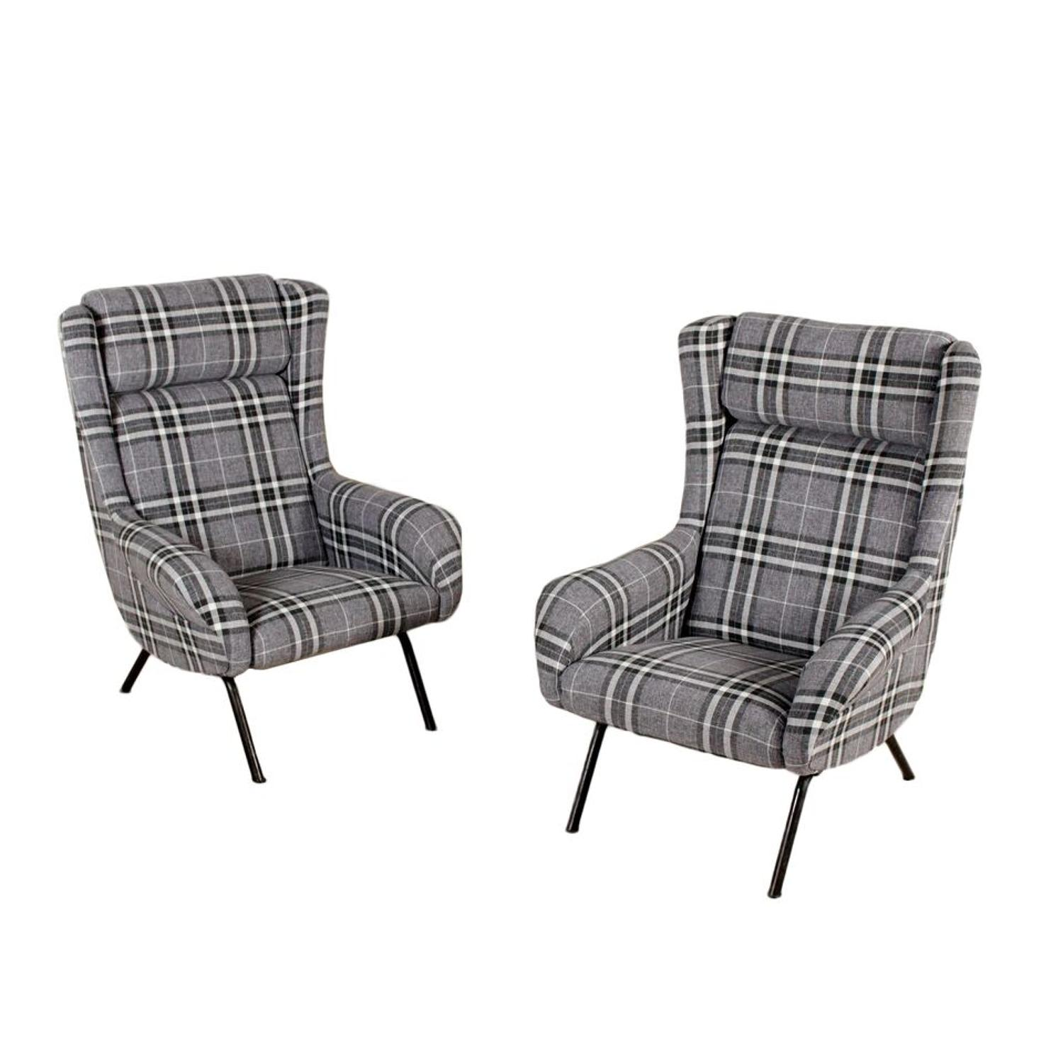 Pair of Cassina armchairs