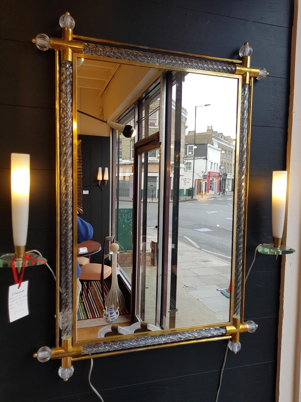 Barovier & Toso pair of mirrors