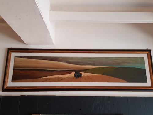 Andrea Cresti painting, oil on wood