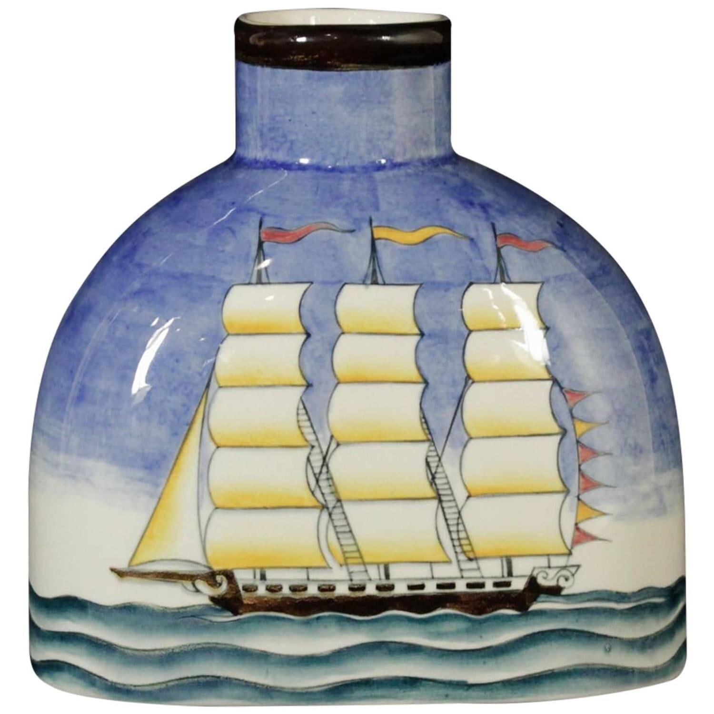 Giò Ponti rare ceramic bottle