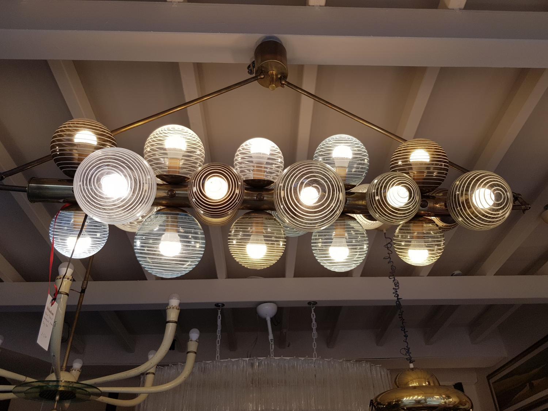 Venini balls chandelier