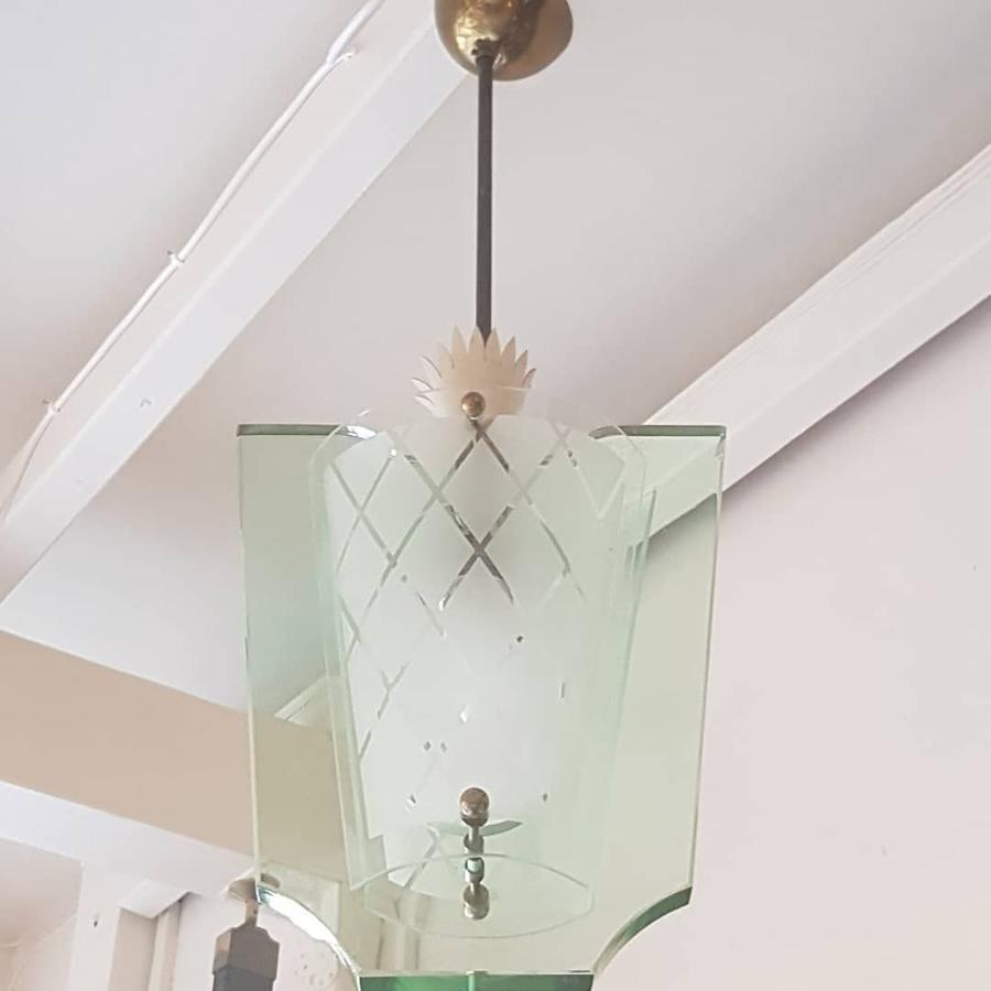 Pietro Chiesa for Fontana Arte pendant