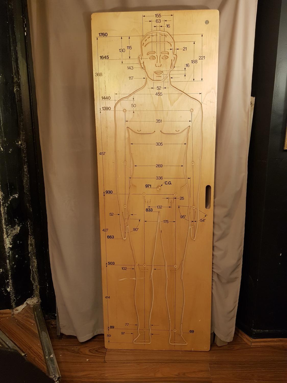 Rare panel by Osvaldo Borsani for Tecno