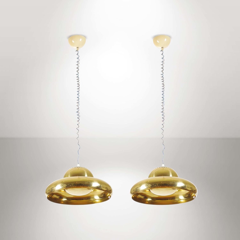 Afra & Tobia Scarpa pair of pendants