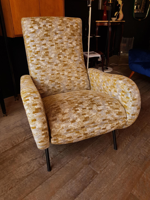 Marco Zanuso reclining Lady chair