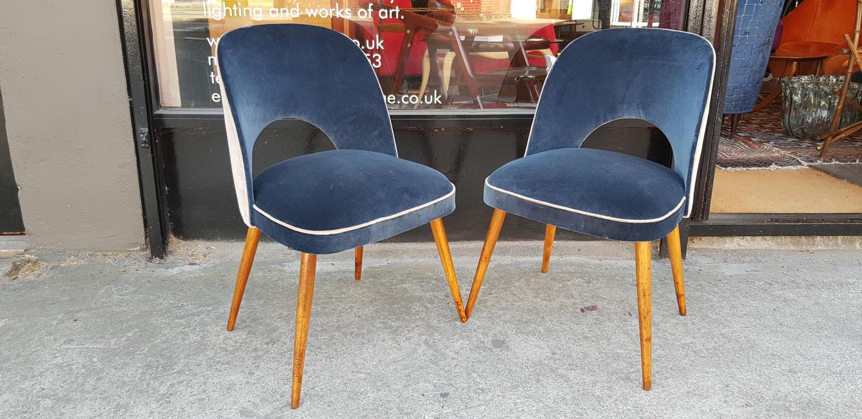 Pair of Osvaldo Borsani chairs