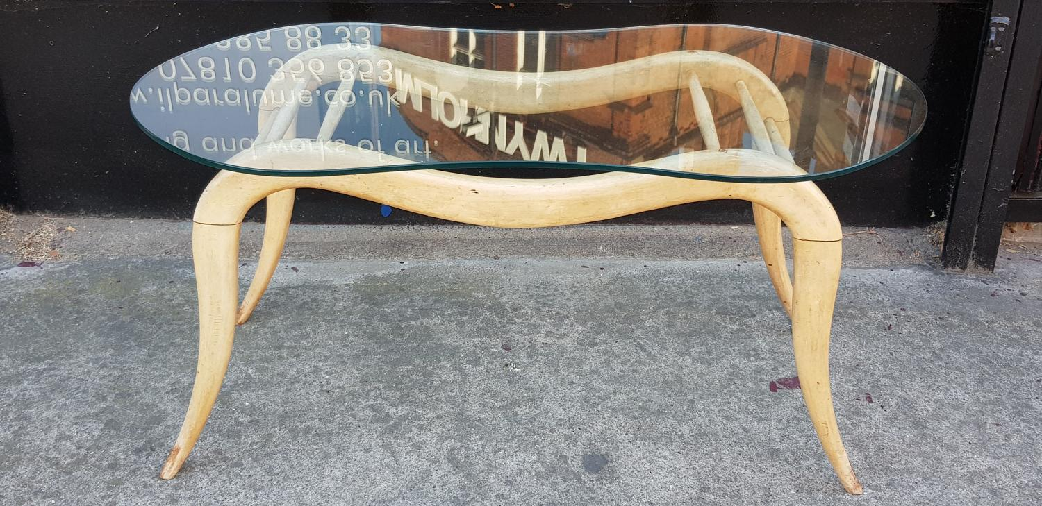 Coffee table by Melchiorre Bega