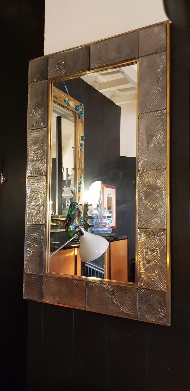 A rare Murano mirror