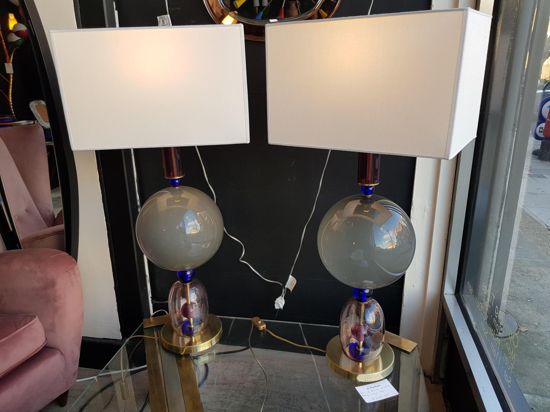 Ettore Sotsass table lamps