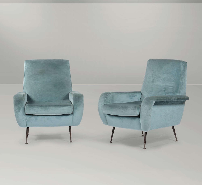 Gigi Radice pair of armchairs
