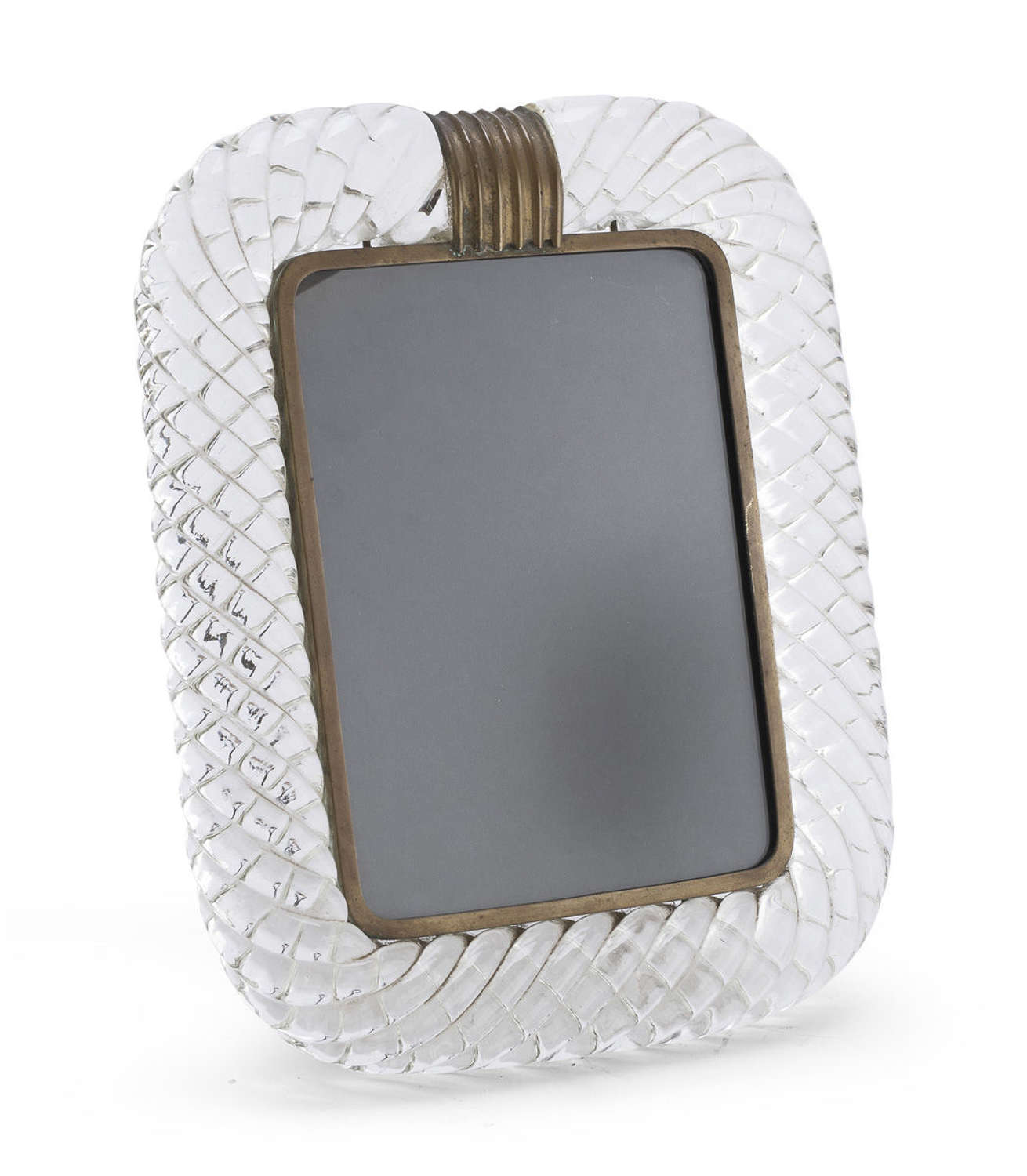 Venini glass photoframe