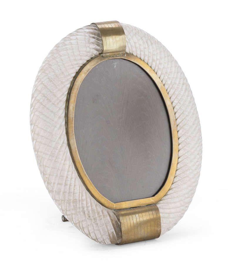 Venini oval photoframe