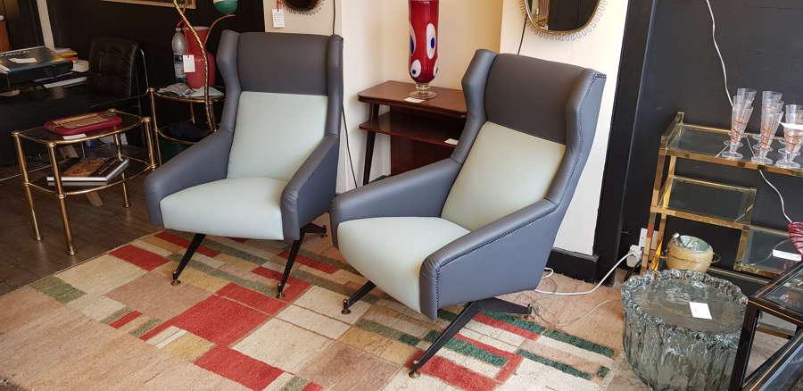 Giulio Minoletti armchairs