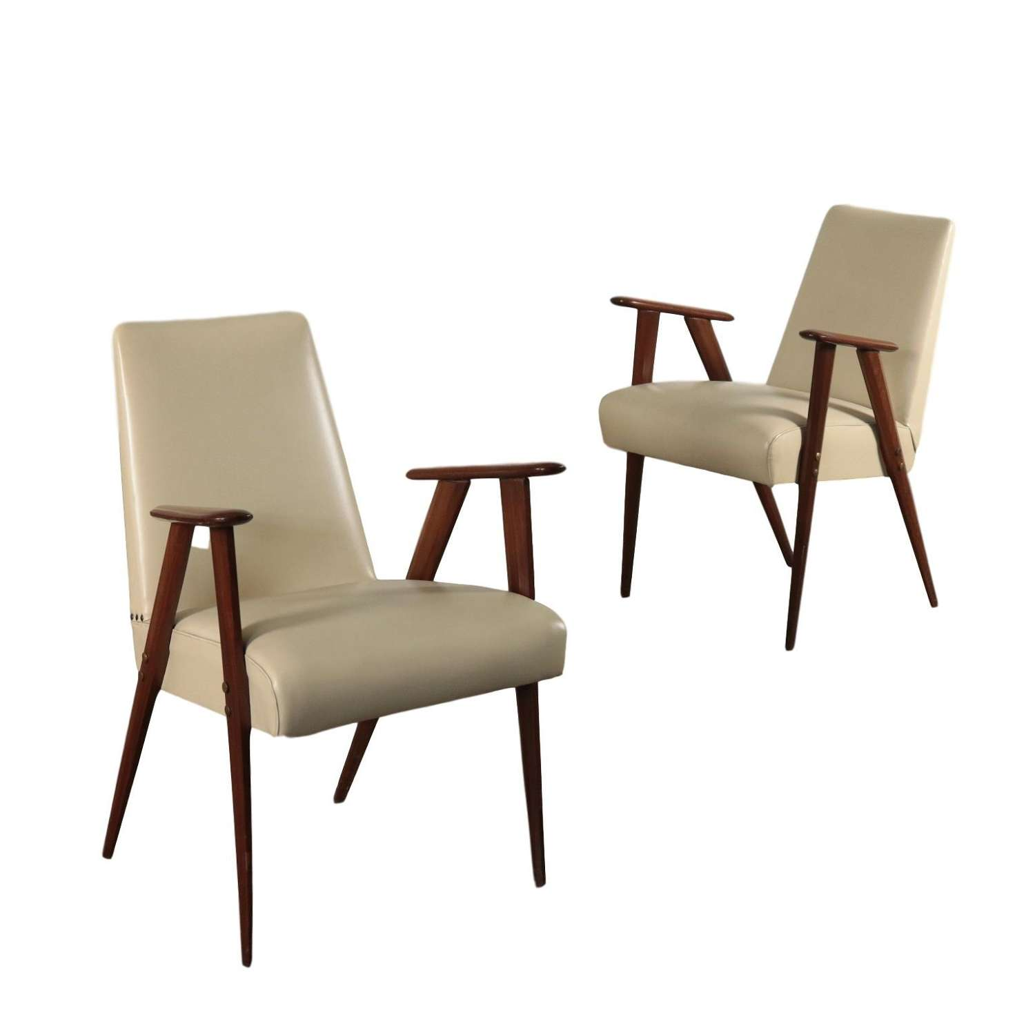 Pair of Giò Ponti chairs