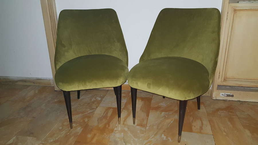 Pair of Borsani chairs
